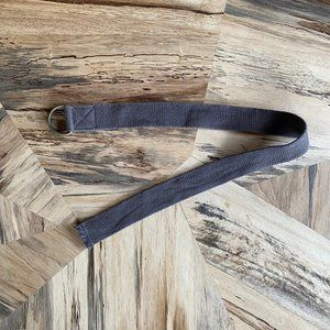 Brown Canvas Belt